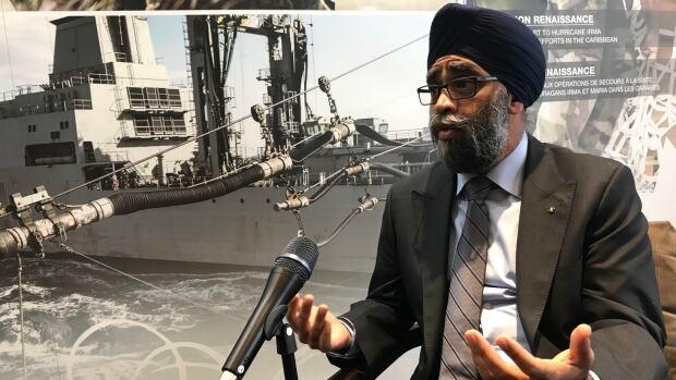 Defence Minister Harjit Sajjan
