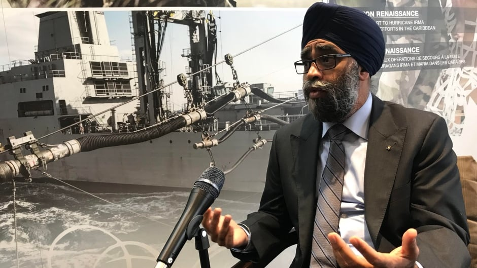 Defence Minister Harjit Sajjan sits down with The House.