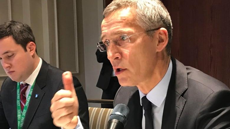 Stoltenberg: NATO doors opened for Ukraine