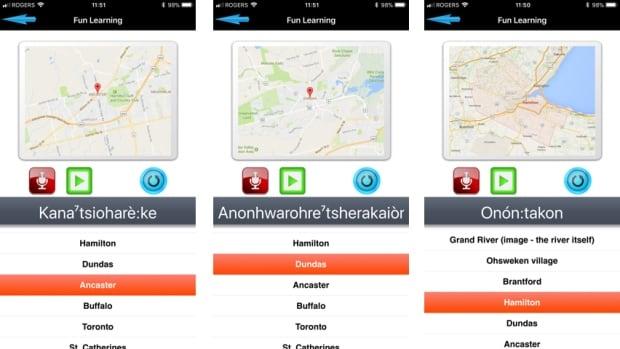 Mohawk language app