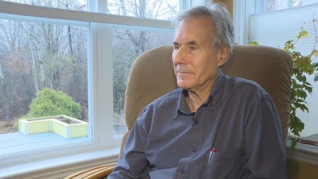 Resident Arthur Melanson wonders why there was no announcement made about a new $4 million water tower in Shediac.