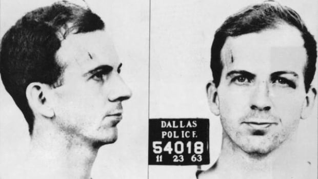 Lee Harvey Oswald is shown in a police mugshot taken by the Dallas Police Department on Nov. 23, 1963.