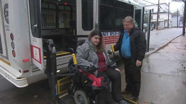 Kathleen Leger is on the board of directors for Ability Transit.  She is also a client.  The non-profit is trying to figure out why there has been such a bump in demand for its services.