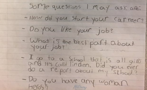Ivy's list of questions