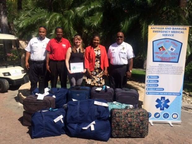 Antigua relief effort