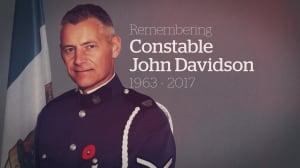 Remembering Const. John Davidson: CBC coverage of fallen officer's memorial