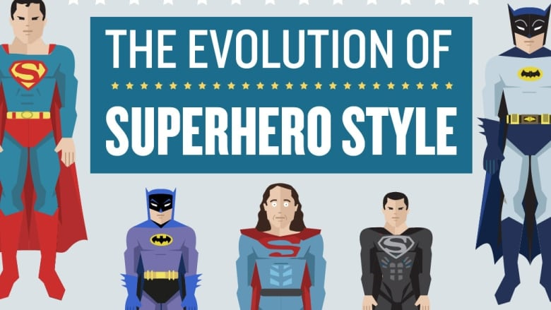 How The Superman And Batman Costumes Have Evolved Cbc Radio