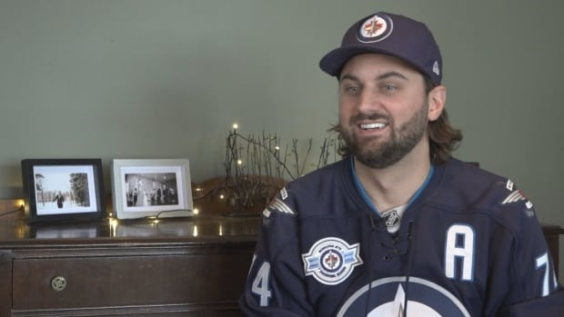 Ryan Delong, 30, decided to give his extra ticket to Saturday's Jets game to Leslie MacKay.