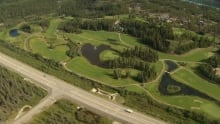 Aerial view of Meadow lakes Golf and Country Club