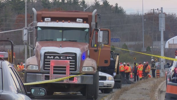 Halton police investigate after a 32-year-old man died in an industrial accident Friday afternoon in Oakville.