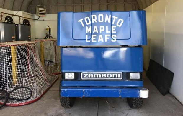 Toronto Dufferin Grove Leafs zamboni
