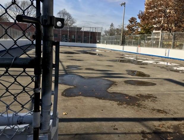 Toronto Dufferin Grove outdoor rink