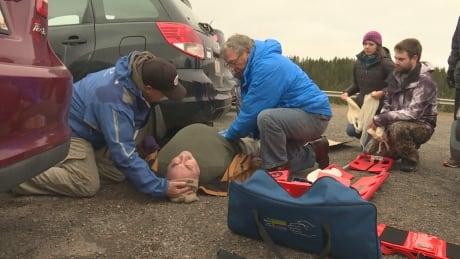 Having a field day: Brookvale ski patrol prepares for emergencies