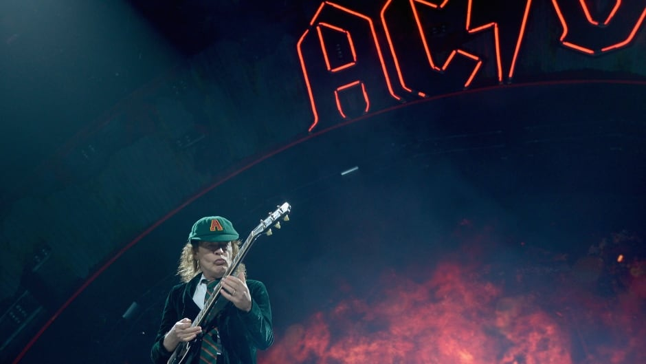 SUNRISE, FL - AUGUST 30:  Angus Young of AC/DC perform  onstage at BB&T Center on August 30, 2016 in Sunrise, Florida.