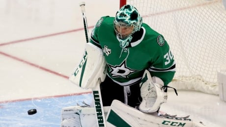 Ben Bishop perfect in relief as Stars double up Oilers thumbnail