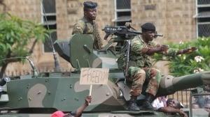 Zimbabwe's Mugabe to meet with military following 'coup'