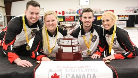 Ontario upsets Quebec to win Canadian mixed curling championships