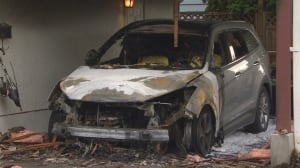 Officials investigate string of suspicious overnight car fires in Delta