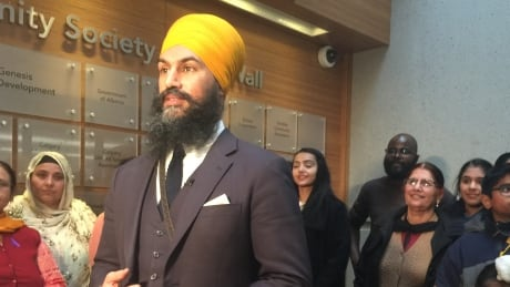 NDP leader Jagmeet Singh talks Alberta, energy and economic justice