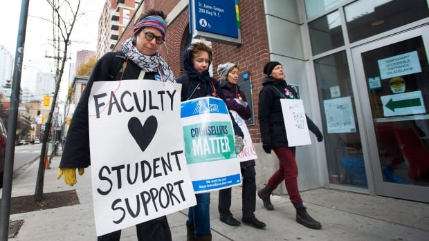 Ontario: a special law puts an end to the strike in colleges