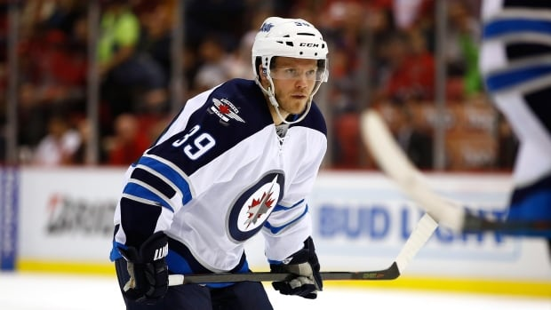 Winnipeg Jets defenceman Toby Enstrom has two assists and a plus-1 rating in 19 games this season.