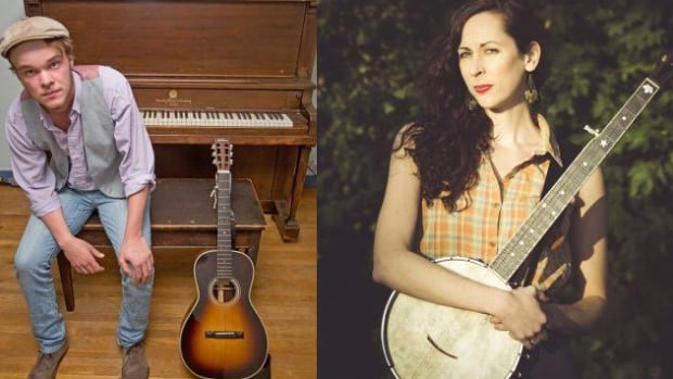Braden Gates and Hannah Shira Naiman are two of the nominees at this year's Canadian Folk Music Awards taking place this weekend in Ottawa.