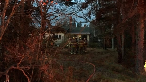 A fire on Mount Scio Road originated in the basement of a vacant home, firefighters told CBC News.