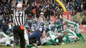 Argonauts reach Grey Cup after surviving epic Roughriders' comeback