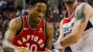 Raptors win 4th straight behind DeMar DeRozan's 33 points