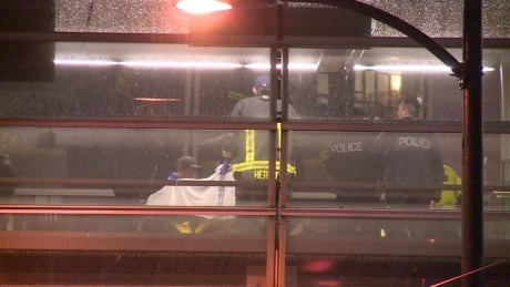Woman hurt by SkyTrain car while running on platform