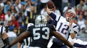 Tom Brady picks apart Raiders in NFL's annual trip to Mexico