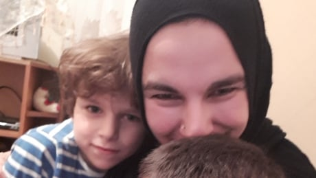 Reunited: Chatham mother holds her boys for first time after a long, painful separation