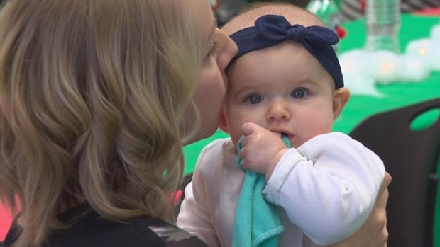 Parents and babies gathered at the Children's Museum on Sunday in celebration of Heartland Fertility & Gynecology Clinic's 20 years of operation.