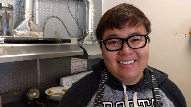 Anh Nguyen, the owner of Chez Anh, has to replace the shop's vent system because they're too narrow for him to prepare his beef pho.