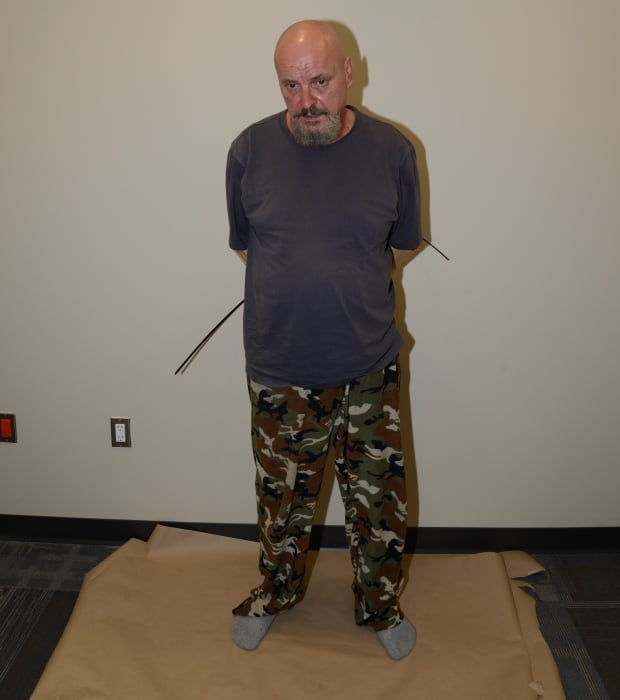 Basil Borutski after arrest Sept 22 2015