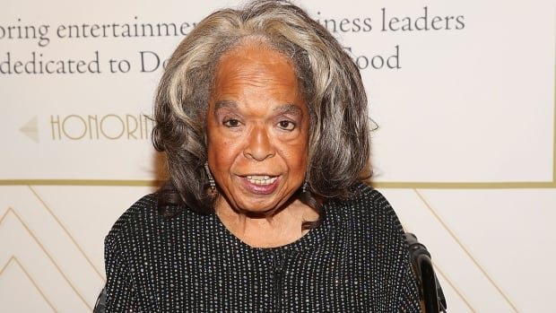 Singer Della Reese, seen at a Salvation Army event in Los Angeles in 2015, has died at the age of 86.