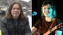 Alan Doyle and Amelia Curran