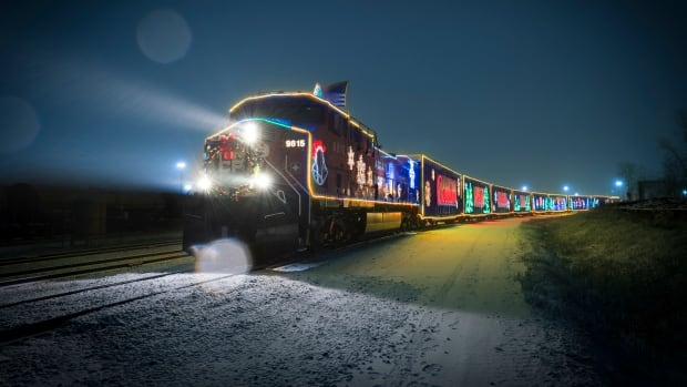 The CP Holiday Train light display and rolling concert visits Windsor on Nov. 30.