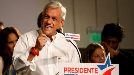 1st-round leader Sebastian Pinera no sure thing for Chilean runoff election