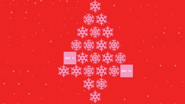 2017 CBC Holiday Drive Advent Calendar