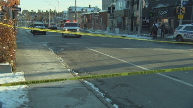 Ottawa police closed off part of Preston Street to motorists as they investigate the collision.