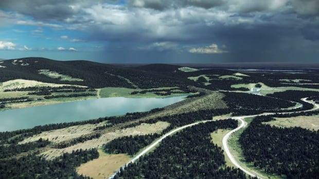 McLean Creek Dry Dam