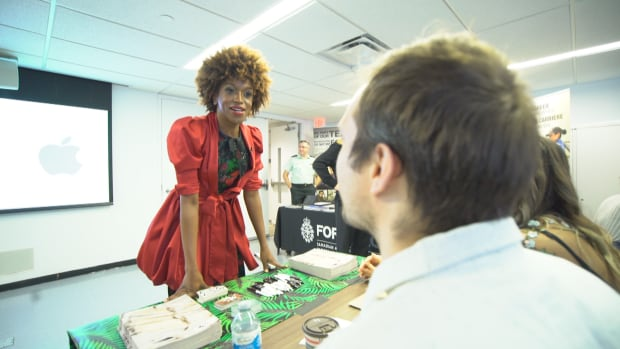 Biko Beauttah, organizer of the job fair, said the response to the event was 'tremendous.'