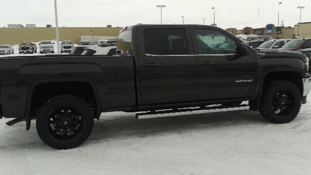 "A picture of the stolen truck was posted to the ""Meanwhile In Selkirk"" Facebook group."