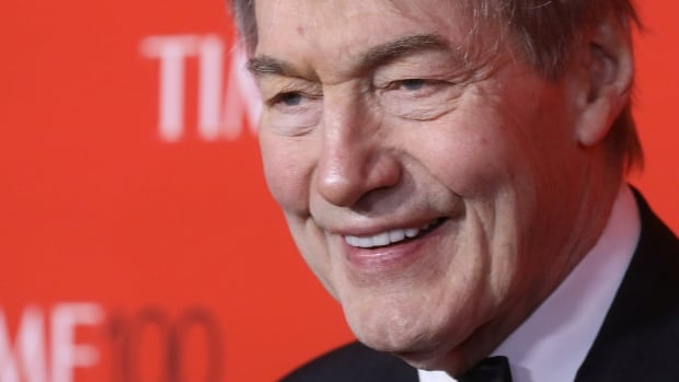 TV host Charlie Rose arrives for the Time 100 Gala in New York. The famous broadcaster says he's deeply embarrassed and apologized.