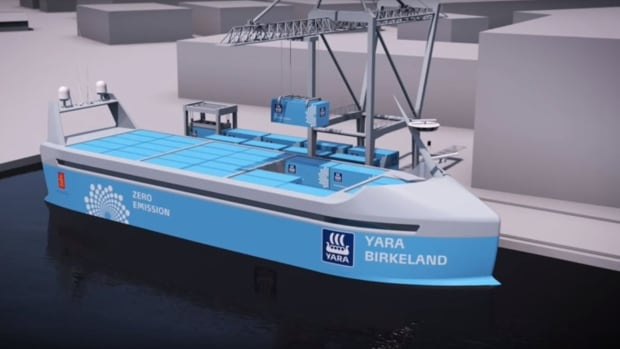 The Yara Birkeland is set to launch next year in Norway.
