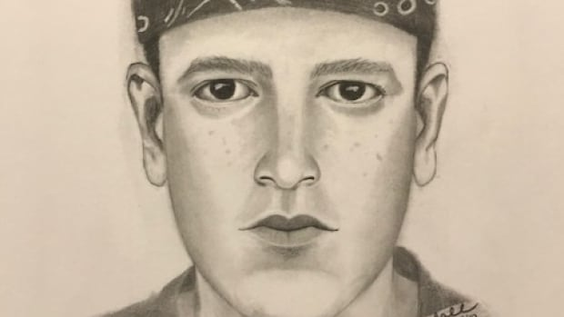 Police released this composite sketch of the suspect in a Regina break-in where an intruder used a gun stolen from the home to shoot at the homeowner.
