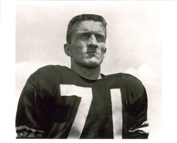 Glenn McWhinney during his time with the Winnipeg Blue Bombers.