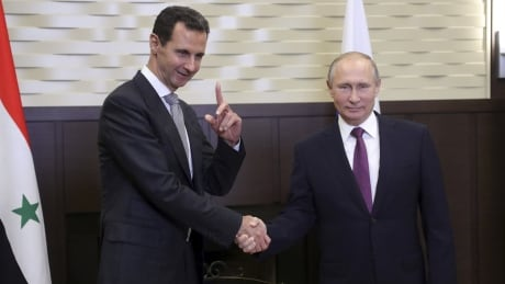 'This military operation is indeed wrapping up,' Putin meets with Assad about political solutions for Syria