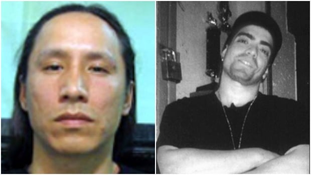 Daniel Wolfe, left, and Aime Simard both died in custody at Saskatchewan Penitentiary.